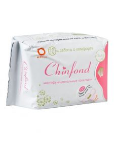 Лечебные прокладки дневные CHINFOND, 10 шт.